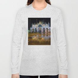 Italy. Venice at night Long Sleeve T-shirt