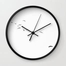 13 Birds Wall Clock