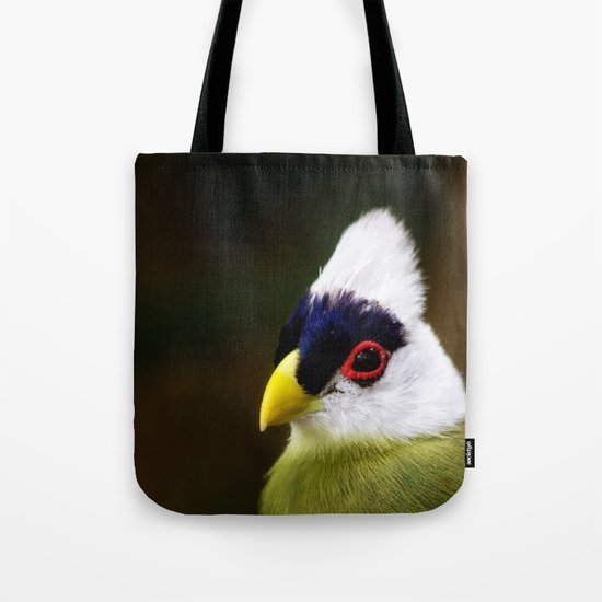 White Crested Turaco Tote Bag