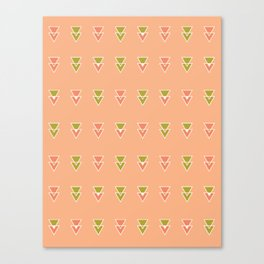 Intersecting Triangles Canvas Print