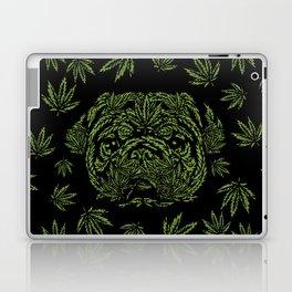 Marijuana of Pug Laptop & iPad Skin