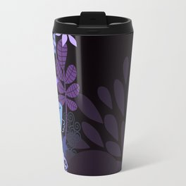 Afro Diva : Sophisticated Lady Purple Lavender Travel Mug