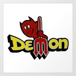Dodge Demon Art Print