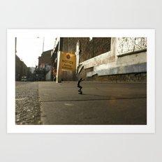DIKKI - StreetPark series one Art Print