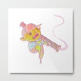goblins and bazookas Metal Print