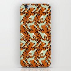 Tiger Conga pattern iPhone & iPod Skin