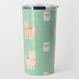 Pattern alpaca Travel Mug