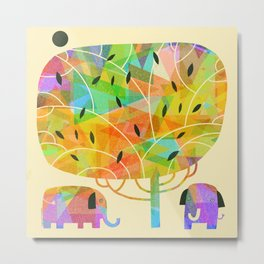 SHADE TREE Metal Print