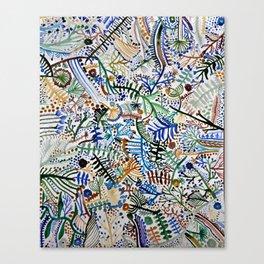za. Canvas Print