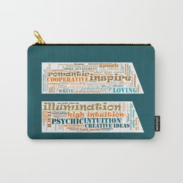 Life Path 11 (color background) Carry-All Pouch