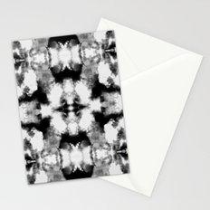 Tie Dye Blacks Stationery Cards