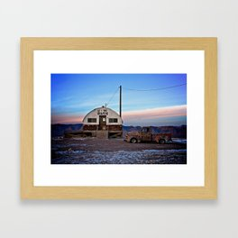 Tecopa at Twilight Framed Art Print