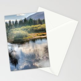 Fall Fly Fishing in Maine Stationery Cards