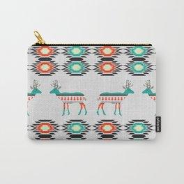 Festive deer pattern Carry-All Pouch