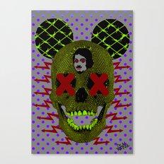 P0p_D34T - _r/\/\x Canvas Print