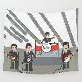 The Ed Sullivan Show Feb 9th 1964 Wall Tapestry