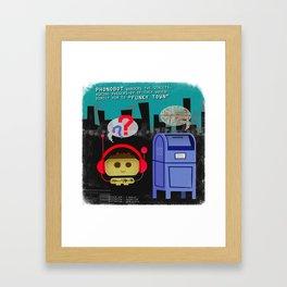 Phonobot - 02 Framed Art Print
