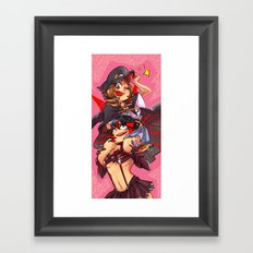 girlfriends la kill Framed Art Print