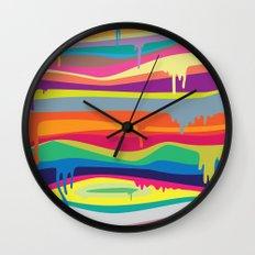 The Melting Wall Clock