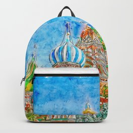 St Basils Cathedral Urban Sketching Backpack