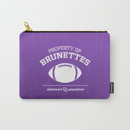 Property of Brunettes Carry-All Pouch