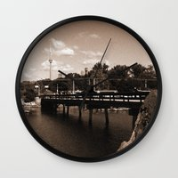 island Wall Clocks featuring island by Christophe Chiozzi