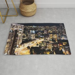 Gold Luminous Yaletown Vancouver Rug
