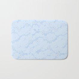 Kumori Nochi Sakura: Blue Bath Mat