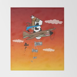Muso Milkwar Aircraft Throw Blanket