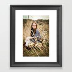 Bethany in the Wild Framed Art Print