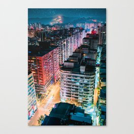 YongHe Cyberpunk Canvas Print