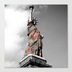 Funky Landmark - NY II Canvas Print