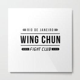 Wing Chun  Metal Print