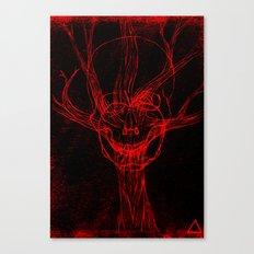 Apple Tree Death Canvas Print