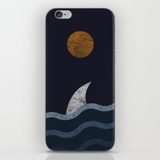 Midnight Shark iPhone & iPod Skin