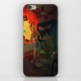 The Girl Upstairs iPhone Skin