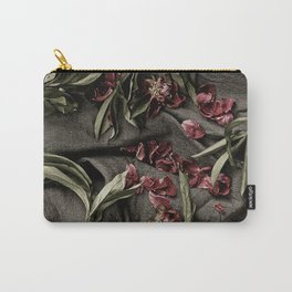 """Peonies are beautiful from the """"bud to to the end."""" Carry-All Pouch"""