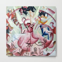 Dancer at Pigalle by Gino Severini Metal Print