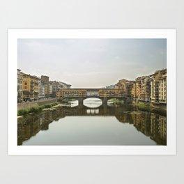 Florence - Ponte Vecchio Art Print