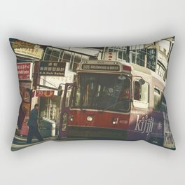 505 Dundas Streetcar China Town Rectangular Pillow