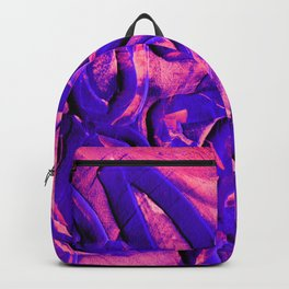 Neon Pink & Purple Rubber Bands Backpack