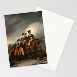 The Capture of the Hessians at Trenton, December 26, 1776 Stationery Cards