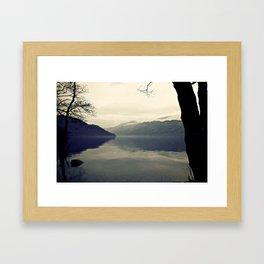 Still Life Loch Framed Art Print
