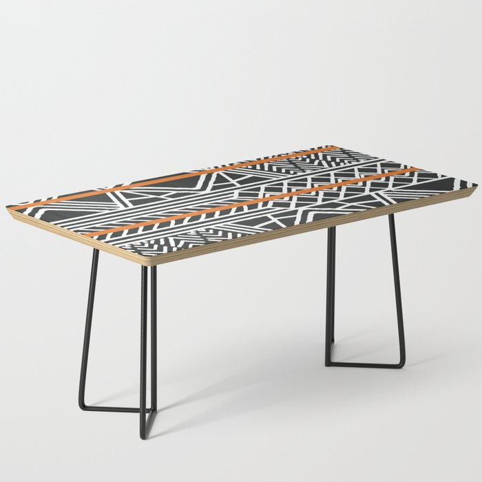 Tribal ethnic geometric pattern 022 Coffee Table