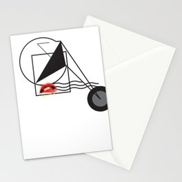 Minimal forms Stationery Cards