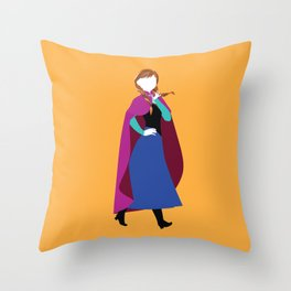 Anna from Frozen - Princesses series Throw Pillow