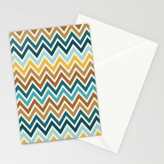 Indie Spice: Cumin Chevron Stationery Cards