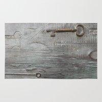 key Area & Throw Rugs featuring key by Joan-Ma Espinosa