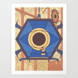 Protecting Trico Art Print