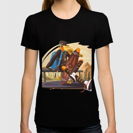 Skateboarding pleasure T-shirt